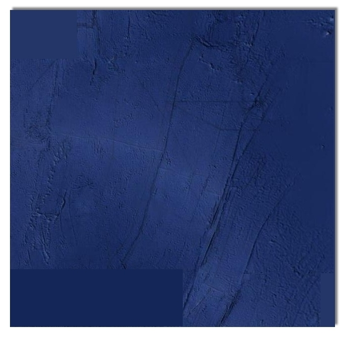 AUTHENTIC PAINTINGS 2012 and it is not Yves Klein